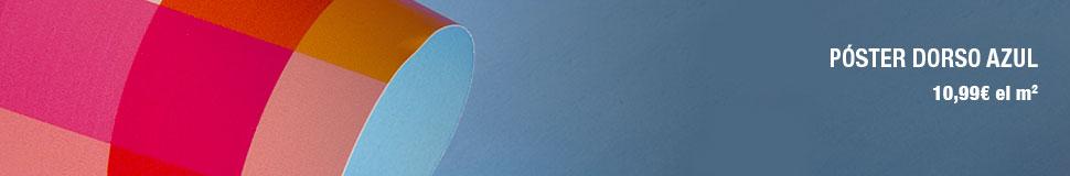 Paoster dorso azul