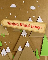 Tarjeta Metal Design